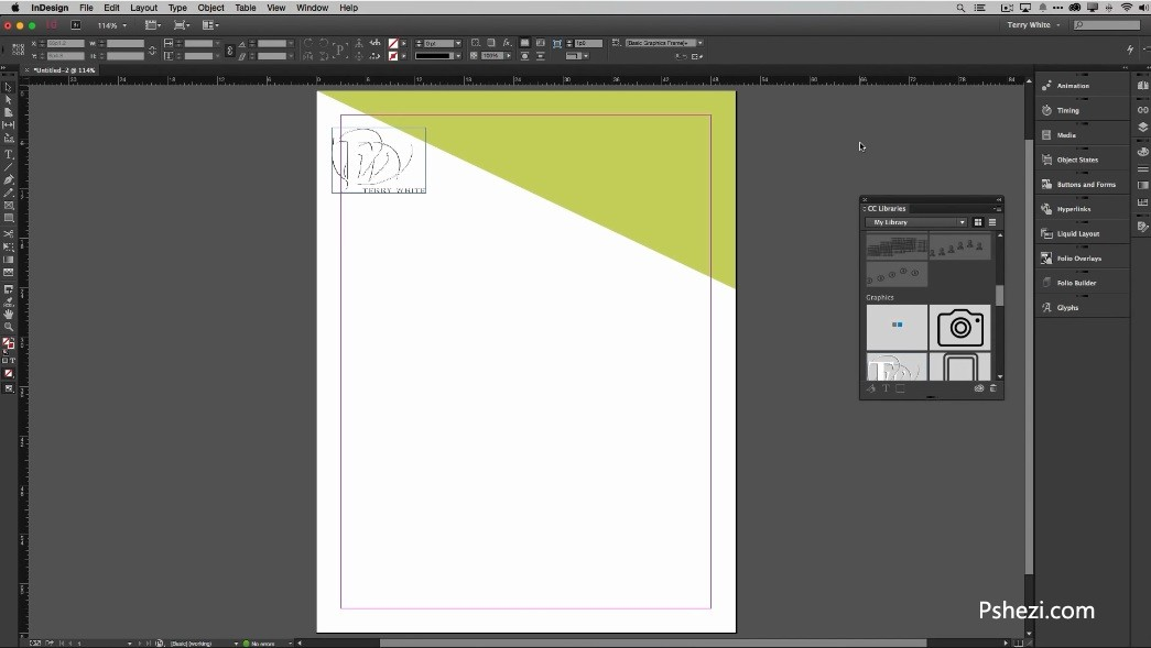 Adobe InDesign CC 2015 for mac 中文破解版 v11.1.0 Mac排版应用软件