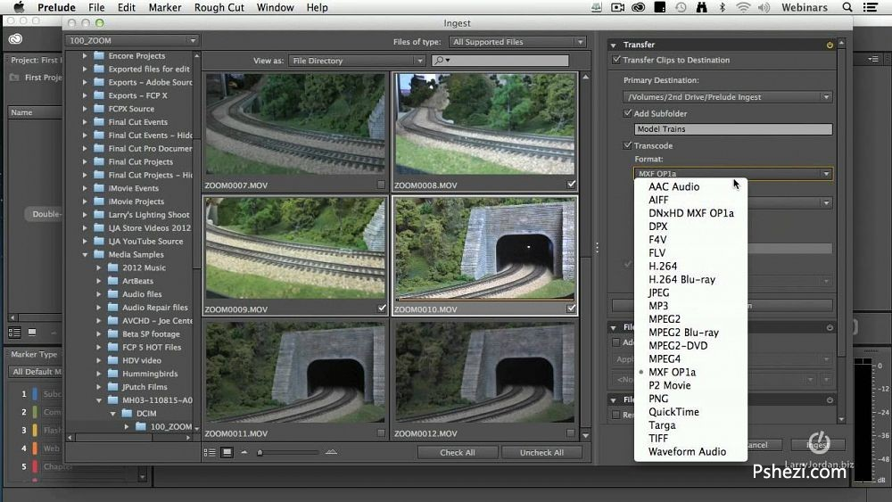 Adobe Prelude CC 2014 for mac 破解版 v3.2.0Mac 视频编辑软件