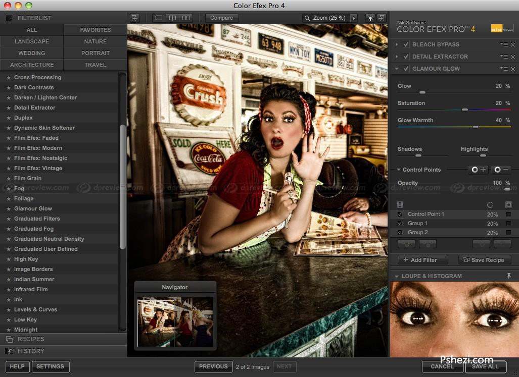 Nik Color Efex Pro 4.005 for Mac破解版 PS调色滤镜
