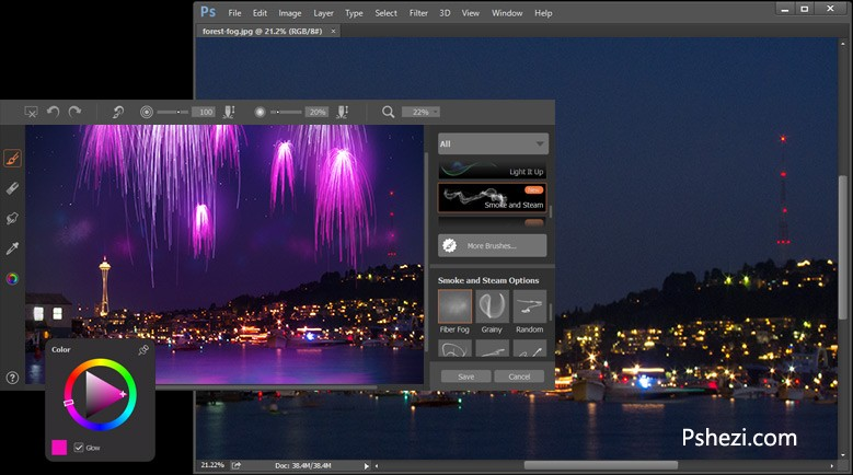 Corel ParticleShop 1.1.510 for Mac破解版 PS笔刷滤镜