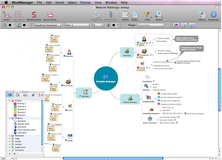 MindManager for Mac破解版 v10.3.635 思维导图软件
