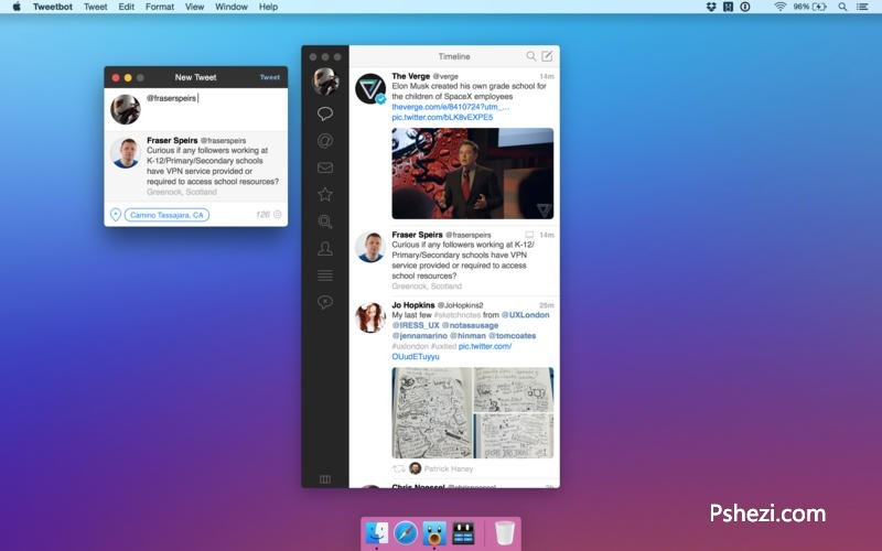 Tweetbot for Twitter 2.3.3 for Mac破解版 Twitter客户端