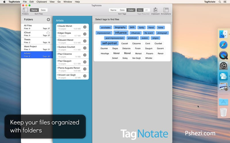 TagNotate 1.3 for Mac破解版 PDF查看和标记软件