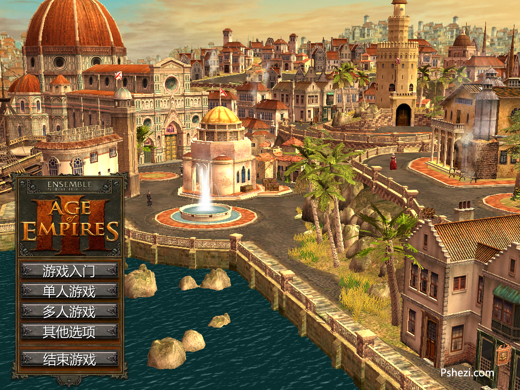 帝国时代3 Age of Empires III for Mac中文版 支持10.11系统