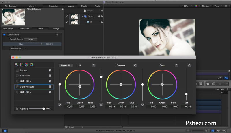ColorFinale 1.0.23 for Mac破解版 FCPX专业级调色插件