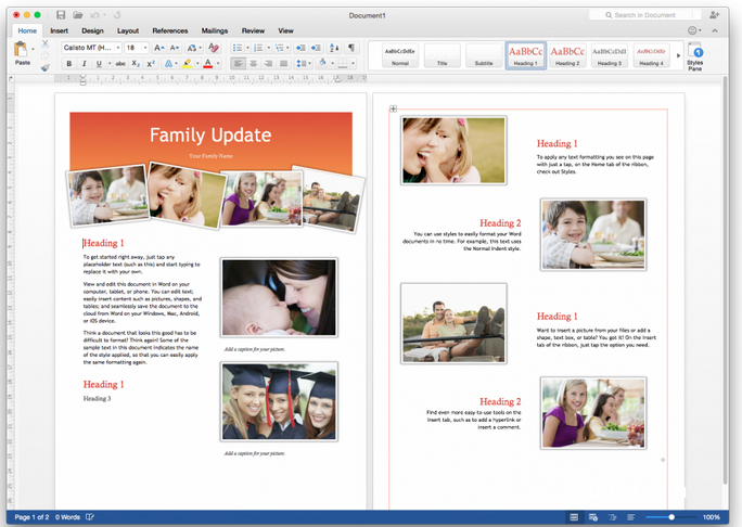 Microsoft Office 2016 v15.20 for Mac 多国语言破解版