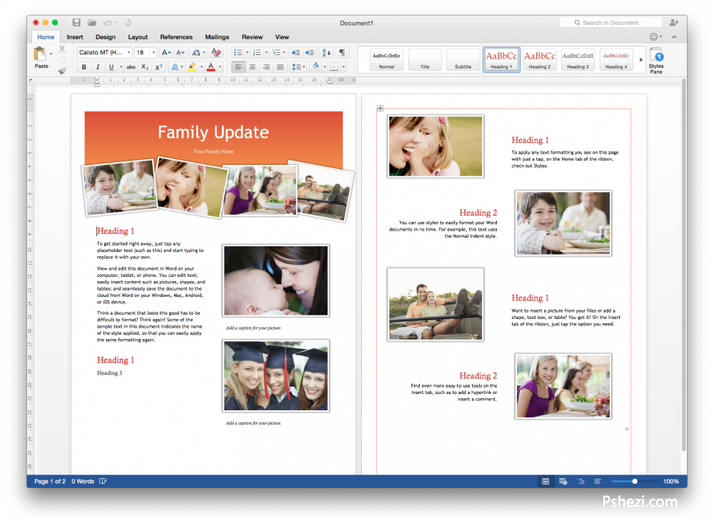 Microsoft Office 2016 v15.11.2 for Mac中文破解版  Office办公软件