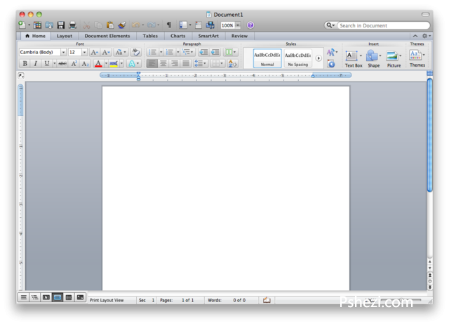 Microsoft Office 2011 v14.4.6 for Mac中文免激活破解版 office办公软件