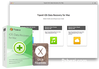 Tipard iOS Data Recovery 8.0.28 for Mac破解版 苹果iOS数据恢复工具