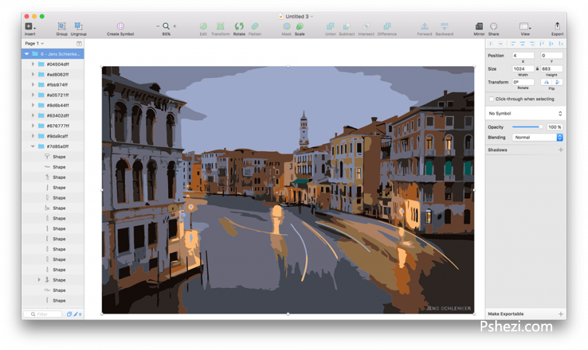 Sketch 3 Mac破解版 Sketch 3.8.3 for Mac 矢量绘图软件