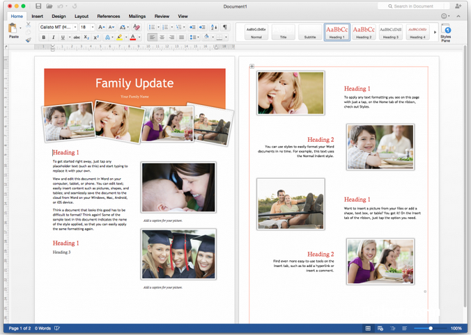 Microsoft Office 2016 v15.23.2 for Mac 多国语言破解版