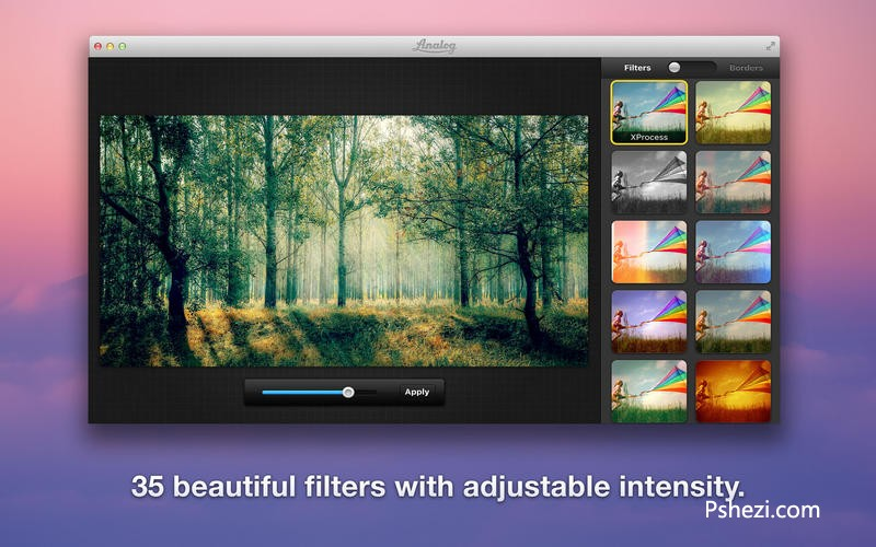 Analog Mac破解版 Analog 2.0 for Mac 图像处理软件