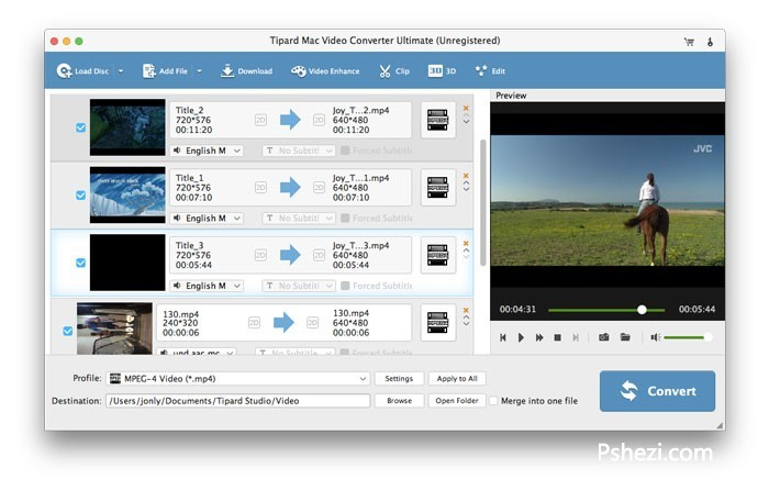Tipard Video Converter Ultimate for Mac 9.0.18 破解版下载 视频转换软件