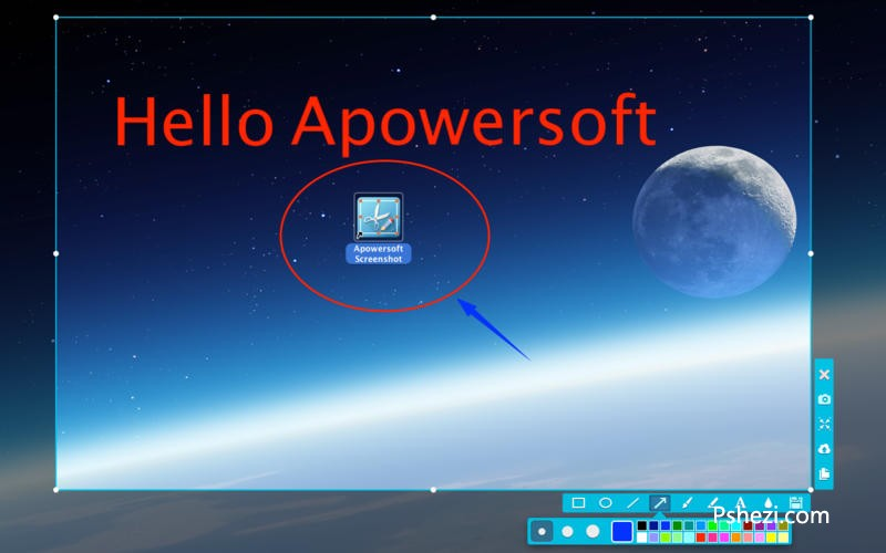Apowersoft Screenshot for Mac 1.1.2 破解版下载  Mac截屏王