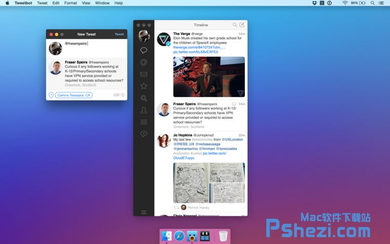 Tweetbot for Twitter for Mac v2.5.4 破解版下载 Twitter客户端