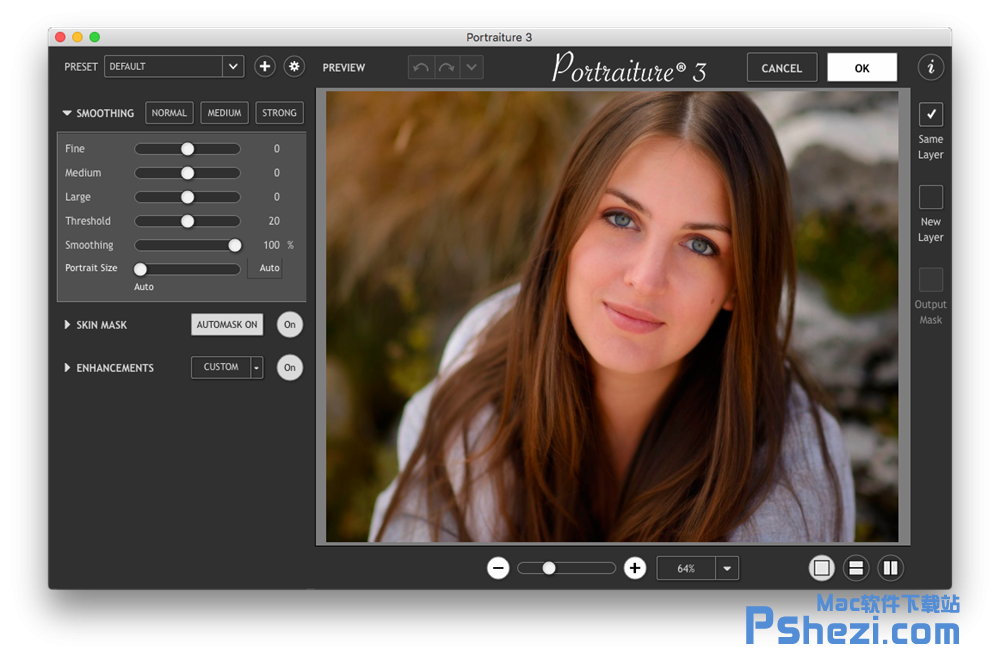 Imagenomic Plug-in for Photoshop CC 2018 Mac破解版下载 PS磨皮滤镜插件