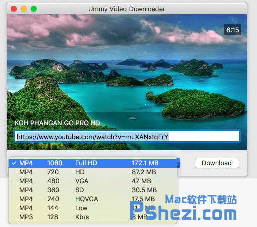 Ummy Video Downloader Mac v1.67 破解版下载 youtube视频下载软件