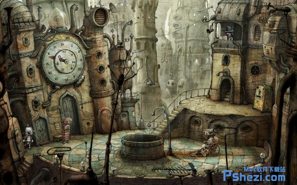机械迷城 Machinarium Collectors Edition v3.1.5 Mac版下载 冒险解谜游戏