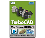 TurboCAD Mac Deluxe 9.0.0 for Mac破解版 2D/3D绘图建模工具