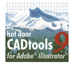 Ai插件 Hot Door CADtools v9.1 for Adobe Illustrator mac 破解版