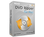 WinX DVD Ripper for Mac中文破解版 v4.5.9 DVD视频转换工具